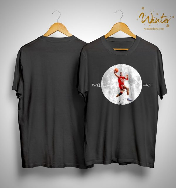 Michael Jordan And Moon Shirt