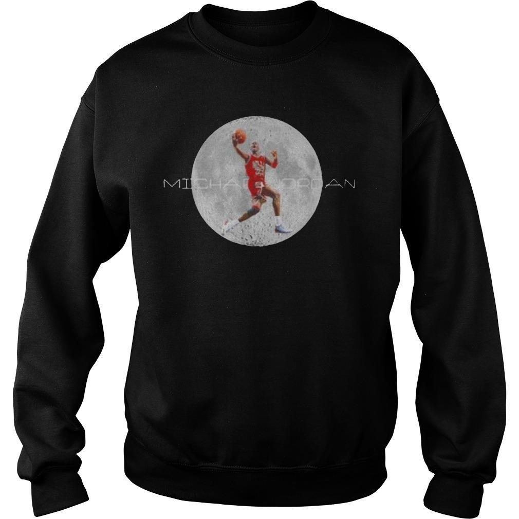 Michael Jordan And Moon Sweater