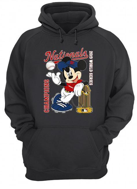Mickey Champions Nationals 2019 World Series Hoodie