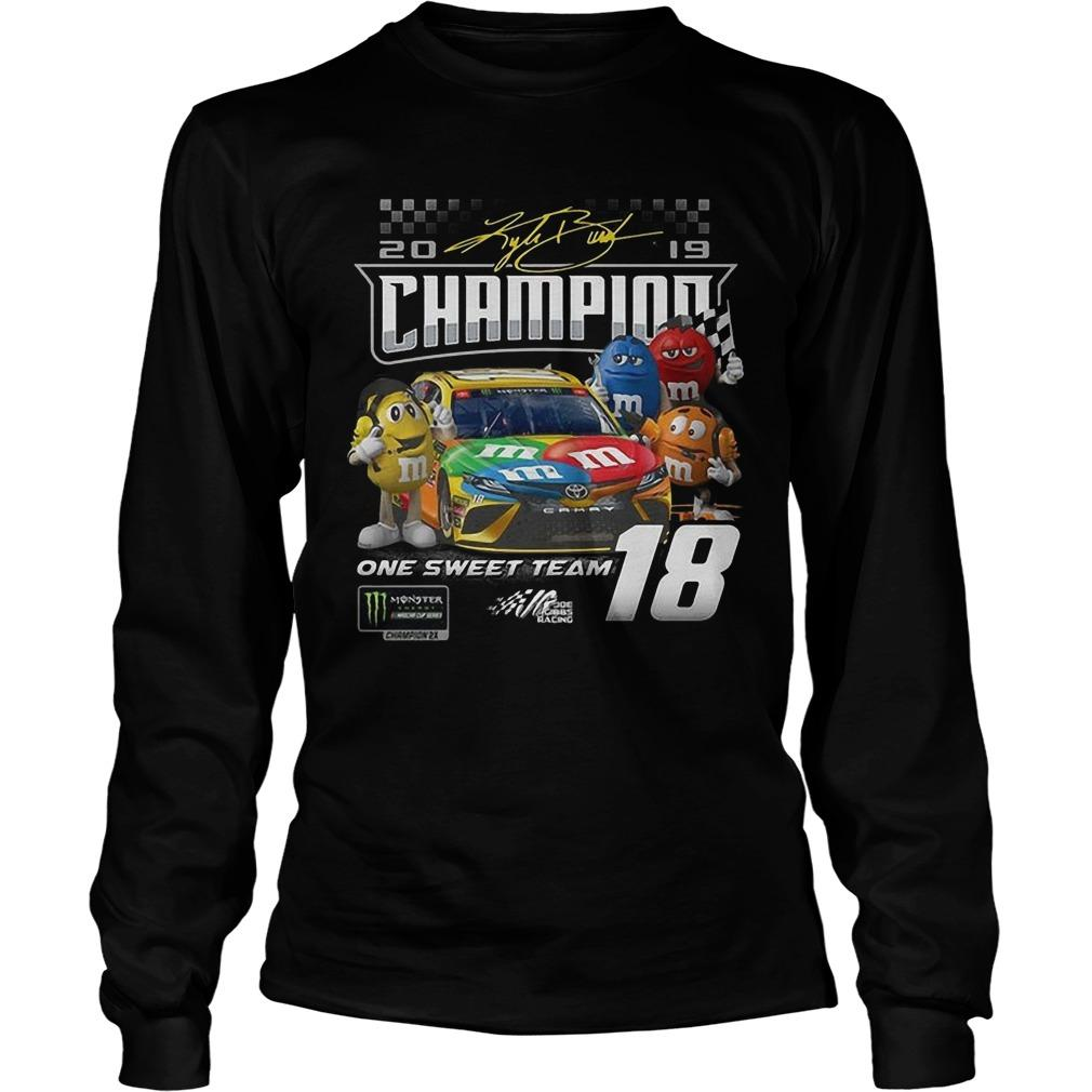 M&m One Sweet Team Champion Longsleeve