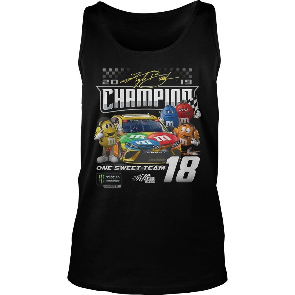 M&m One Sweet Team Champion Tank Top