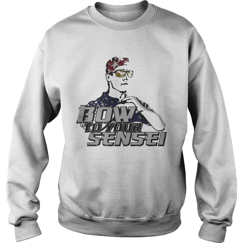Napoleon Dynamite Bow To Your Sensei Sweater