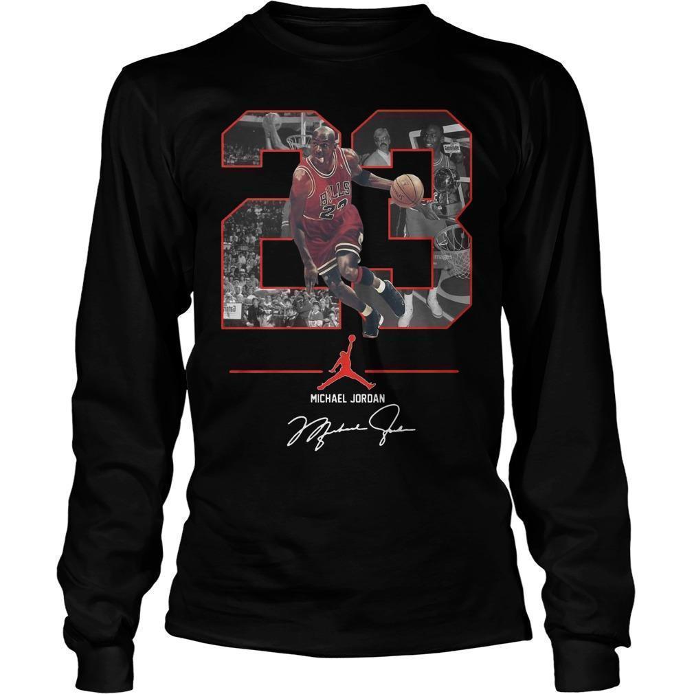 Nba 23 Michael Jordan Signature Longsleeve