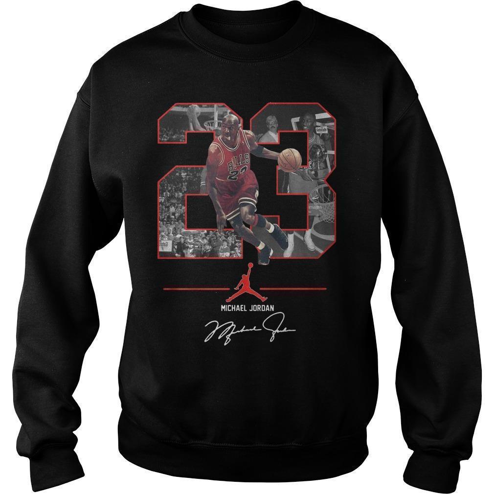 Nba 23 Michael Jordan Signature Sweater