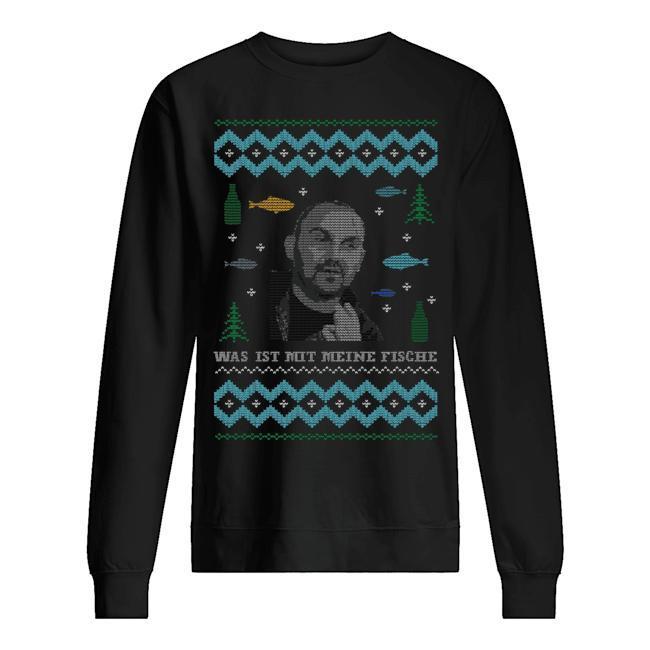 Norman Christmas Was Ist Mit Meine Fische Sweater
