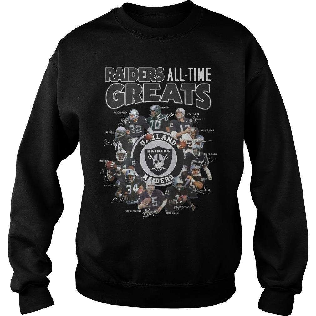 Oakland Raiders All Time Greats Sweater