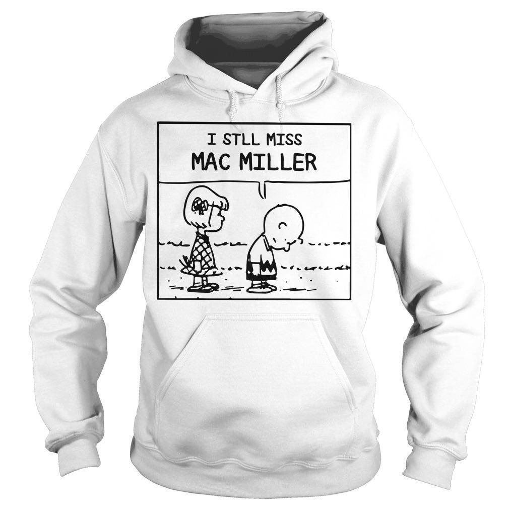 Peanuts Charlie Brown I Still Miss Mac Miller Hoodie