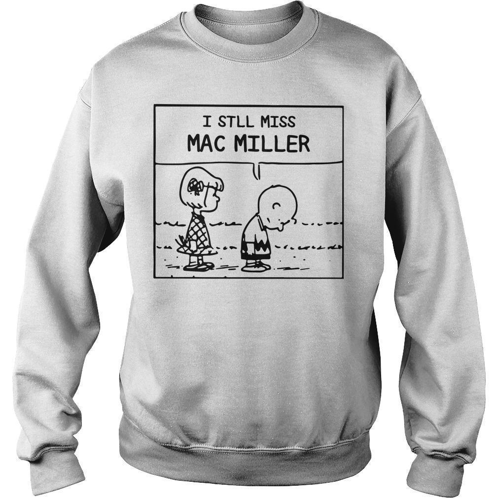 Peanuts Charlie Brown I Still Miss Mac Miller Sweater