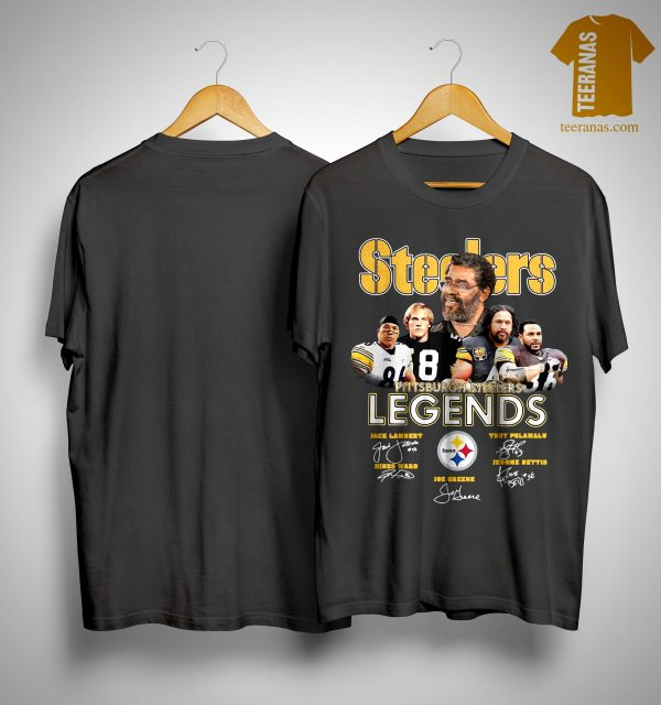 Pittsburgh Steelers Legends Team Signatures Shirt