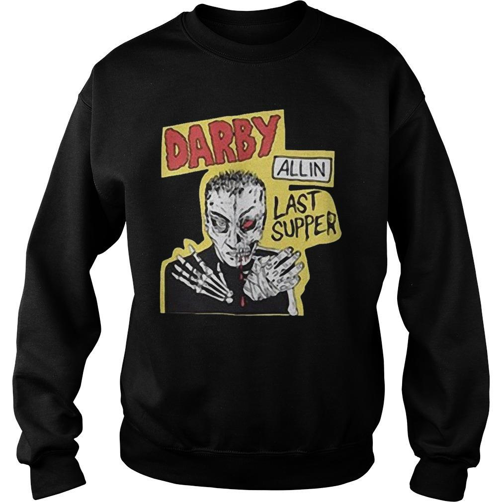 Priscilla Kelly Darby Allin Last Supper Sweater