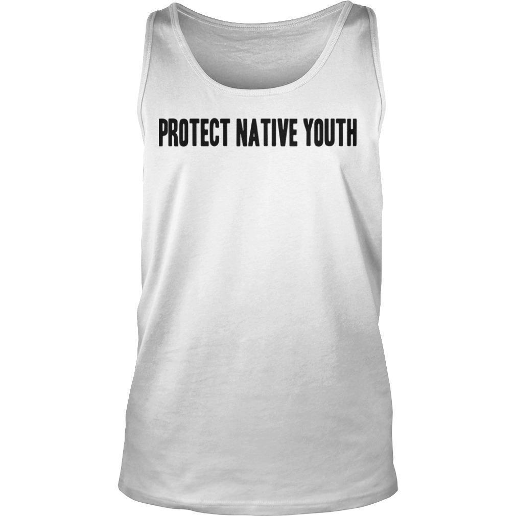 Protect Native Youth Tank Top
