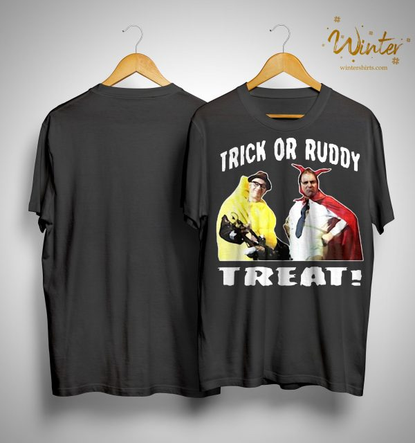 Richie And Eddie Trick Or Ruddy Treat Shirt