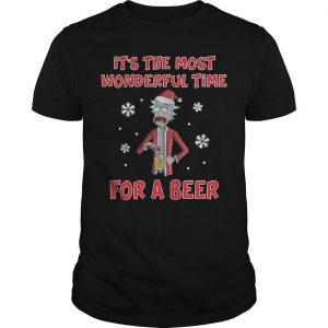 Rick Sanchez It's The Most Wonderful Time For A Beer Shirt