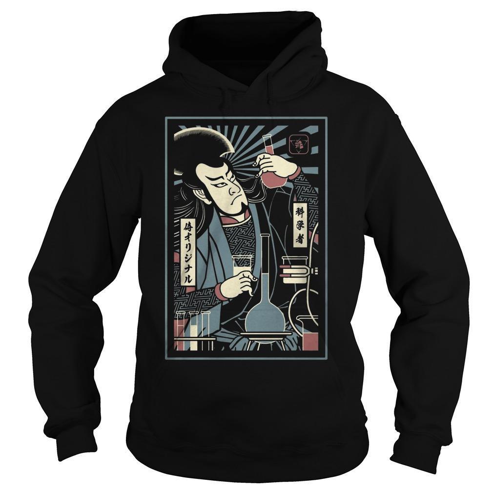 Scientist Samurai Hoodie