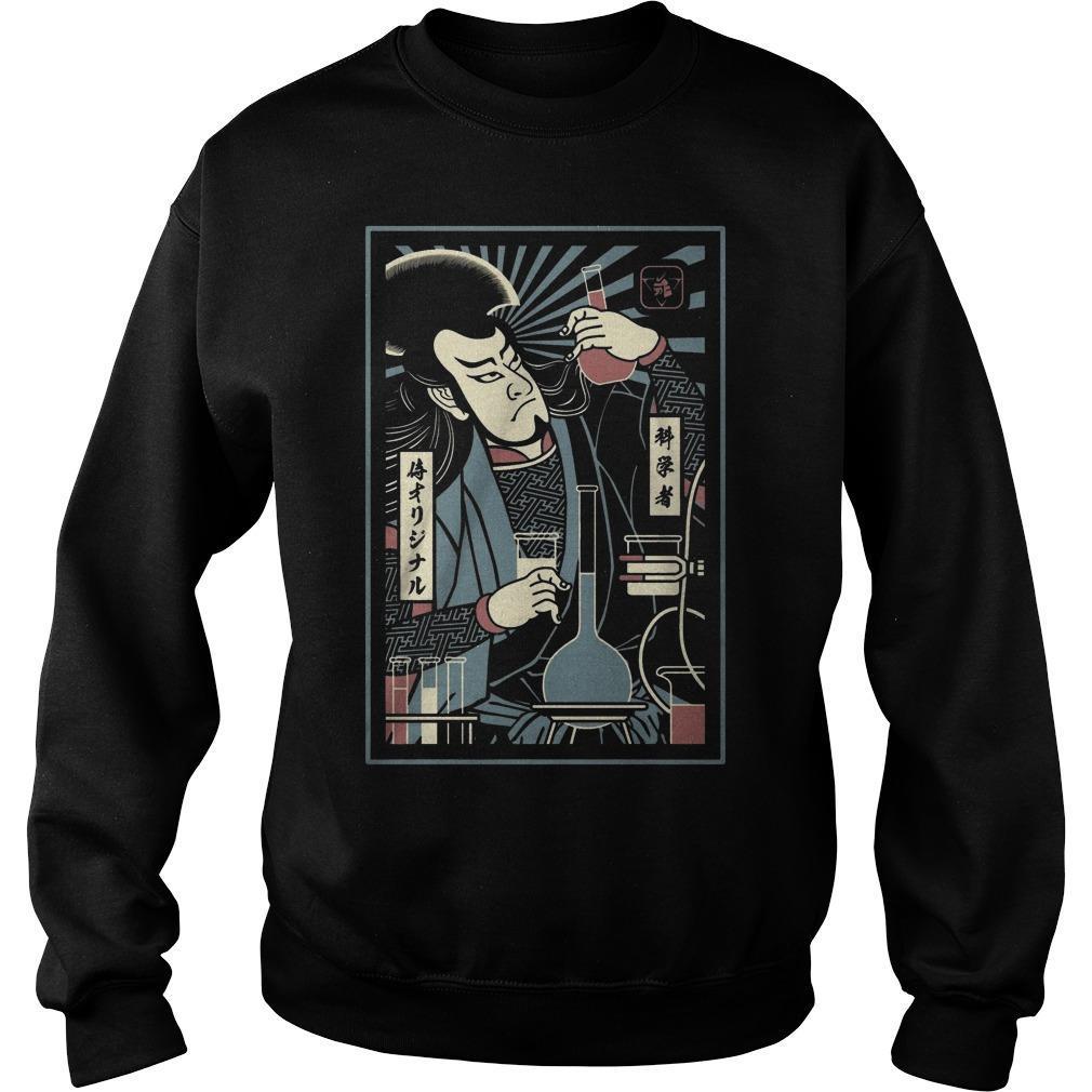 Scientist Samurai Sweater