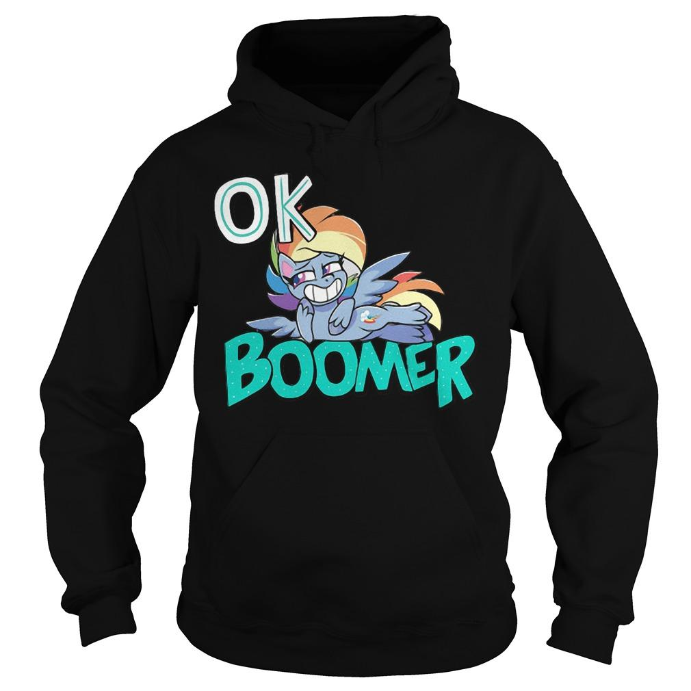 Shiba Roll Ok Boomer Hoodie