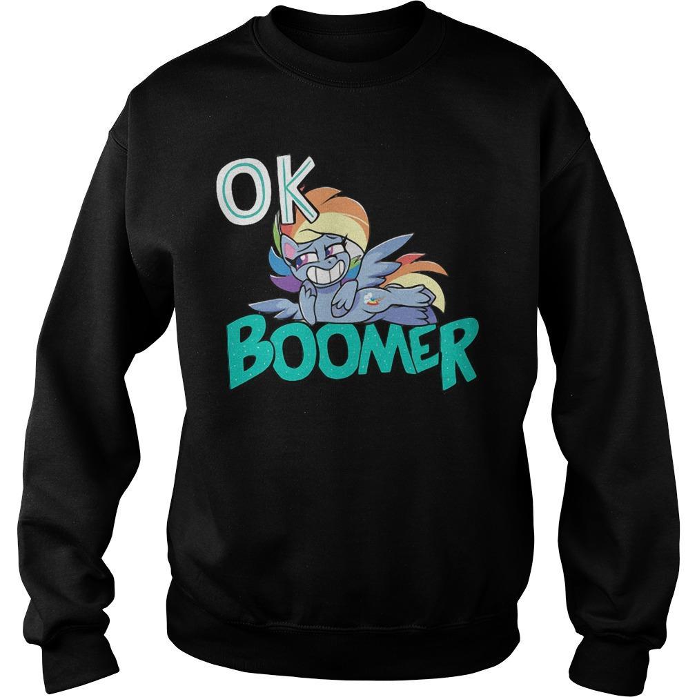 Shiba Roll Ok Boomer Sweater