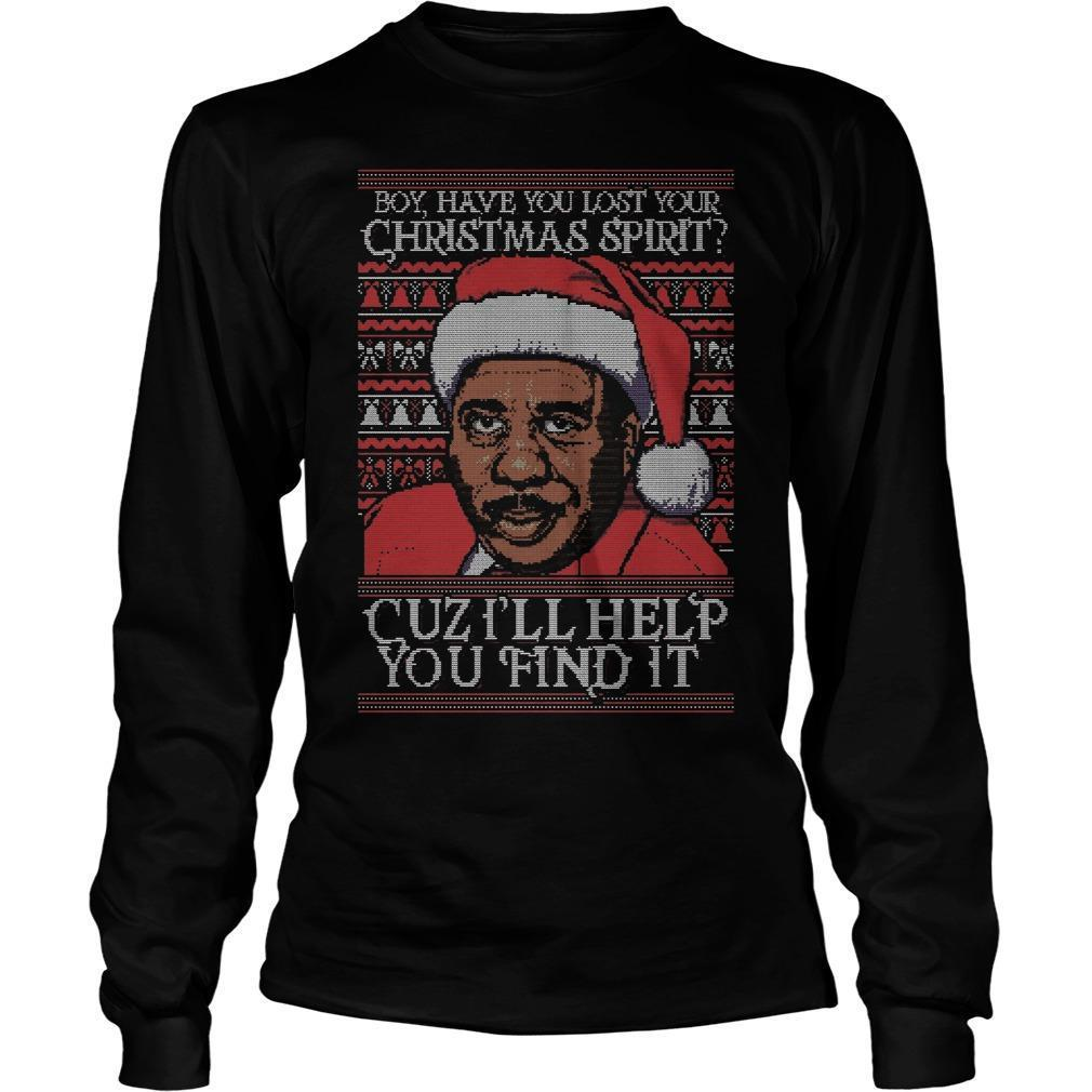 Steve Harvey Boy Have You Lost Your Christmas Spirit Cuz I'll Help You Find It Longsleeve