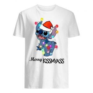 Stitch Merry Kissmyass Shirt