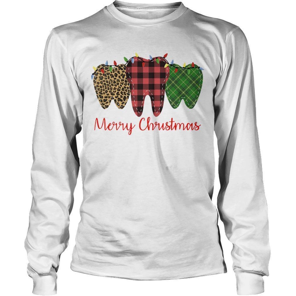 Teeth Merry Christmas Longsleeve