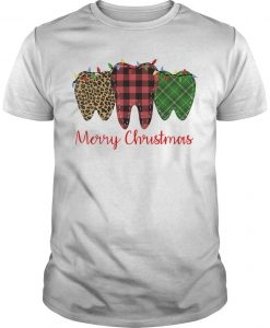 Teeth Merry Christmas Shirt