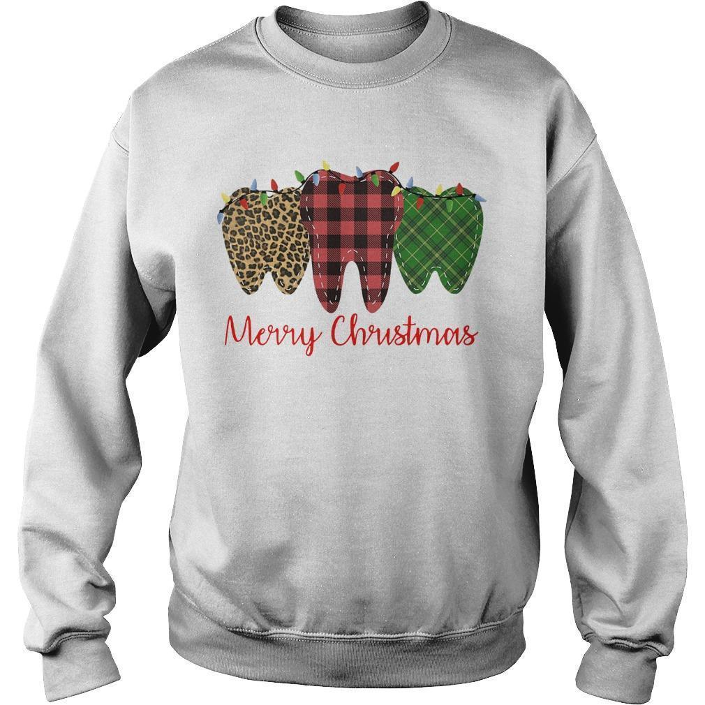 Teeth Merry Christmas Sweater