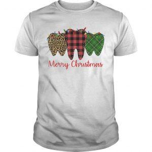 Teeth merry christmas shirt