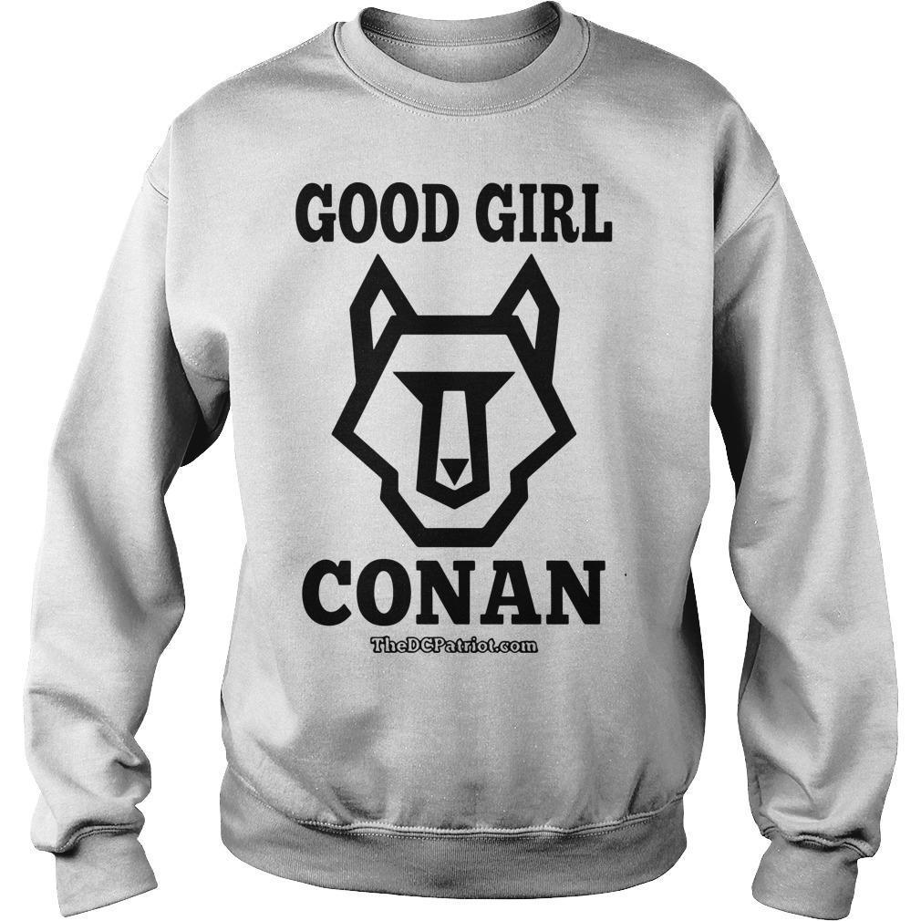 The DC Patriot Good Girl Conan Sweater