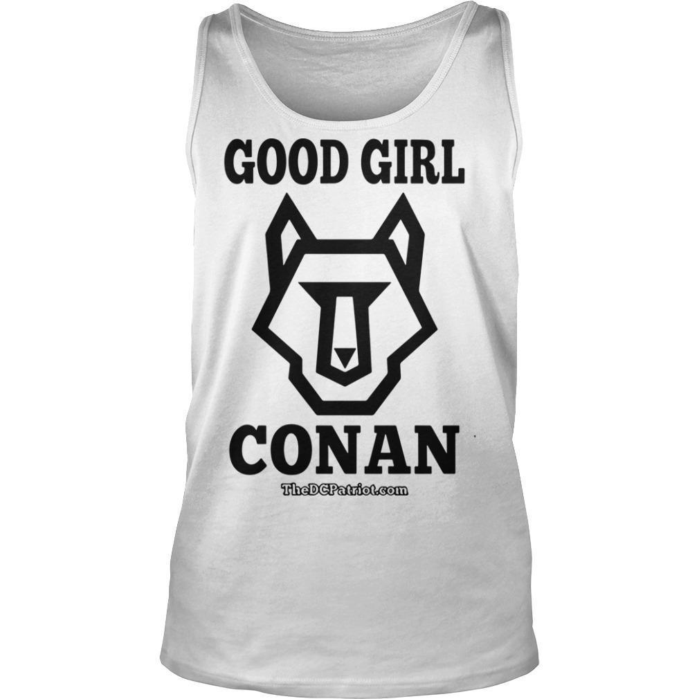 The DC Patriot Good Girl Conan Tank Top