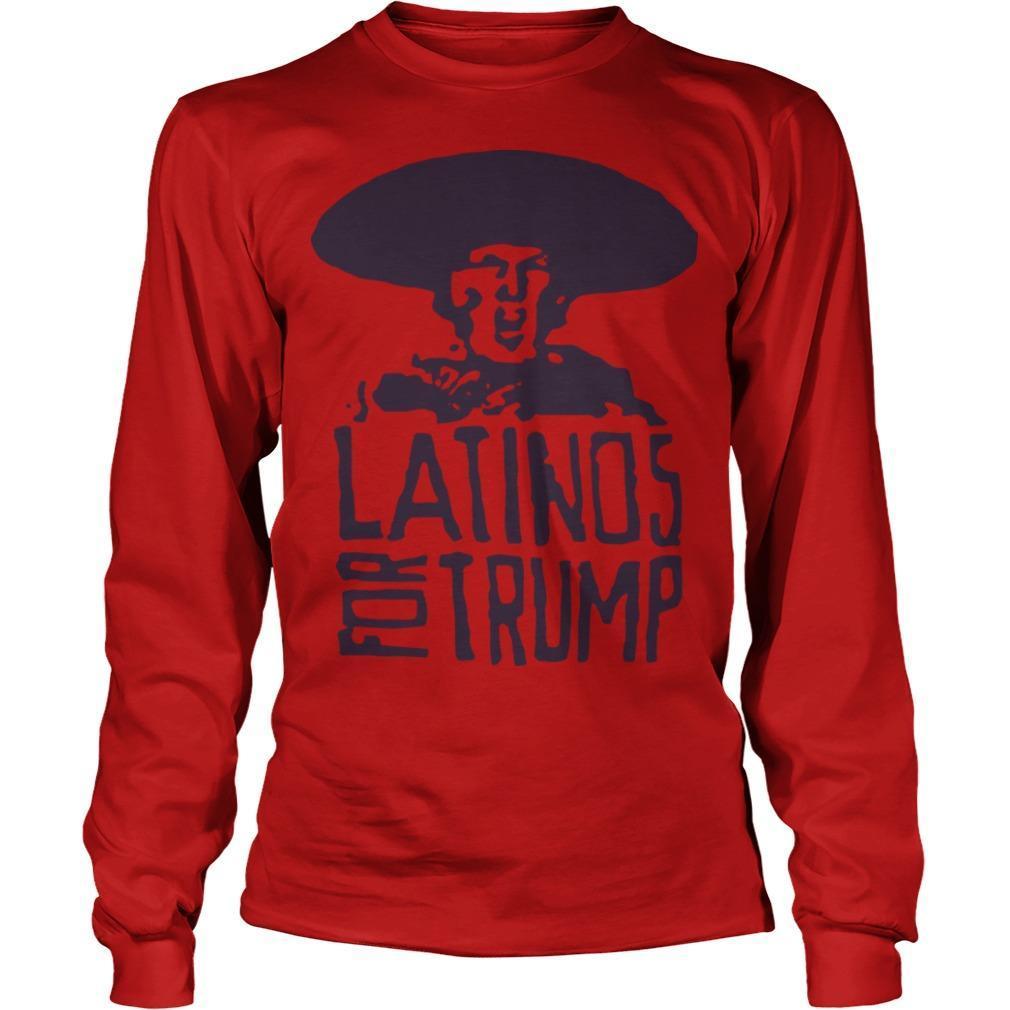 Three Stooges Latinos For Trump Longsleeve