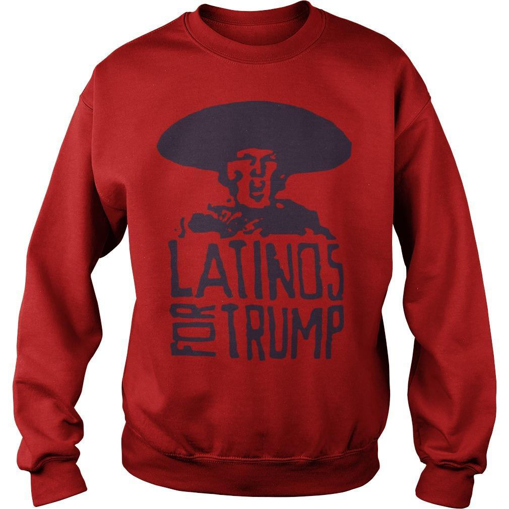 Three Stooges Latinos For Trump Sweater