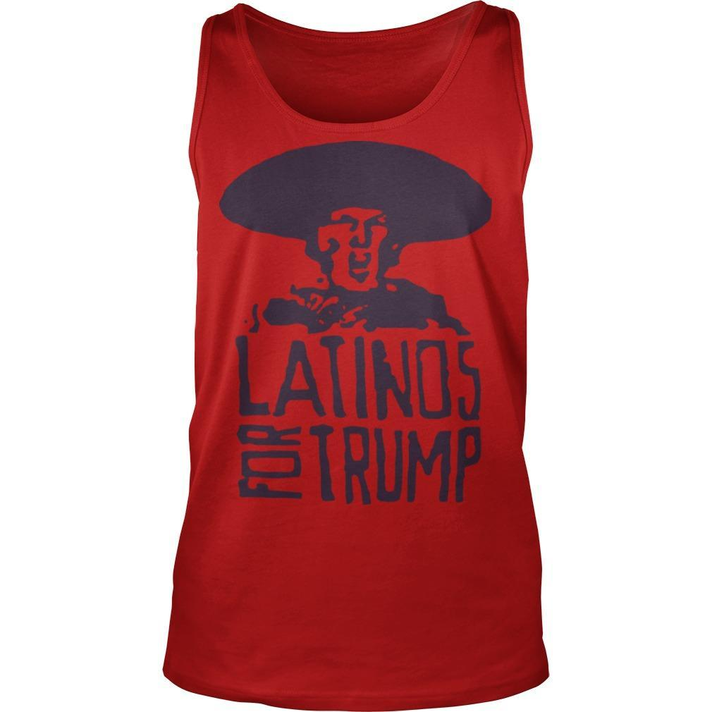 Three Stooges Latinos For Trump Tank Top