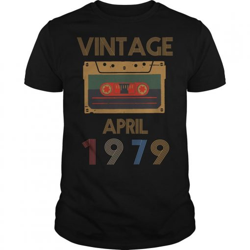 Video Tape Vintage April 1979 Shirt