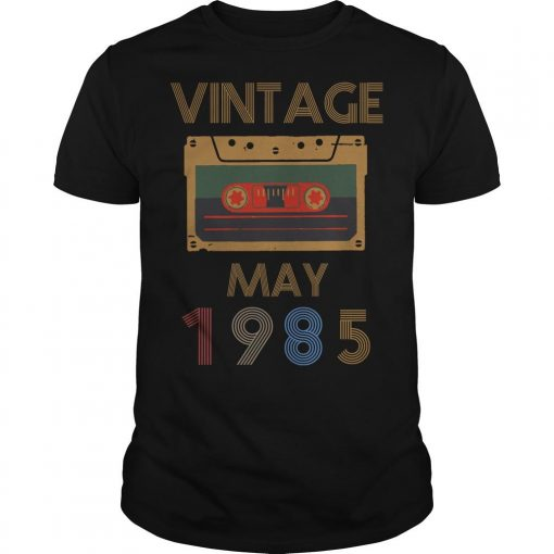 Video Tape Vintage May 1985 Shirt