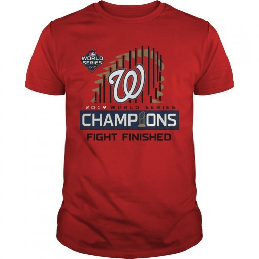 Washington Champions Fight Finished Shirt