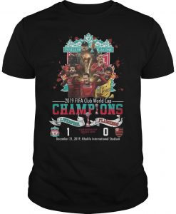 2019 Fifa Club World Cup Champions Liverpool Shirt