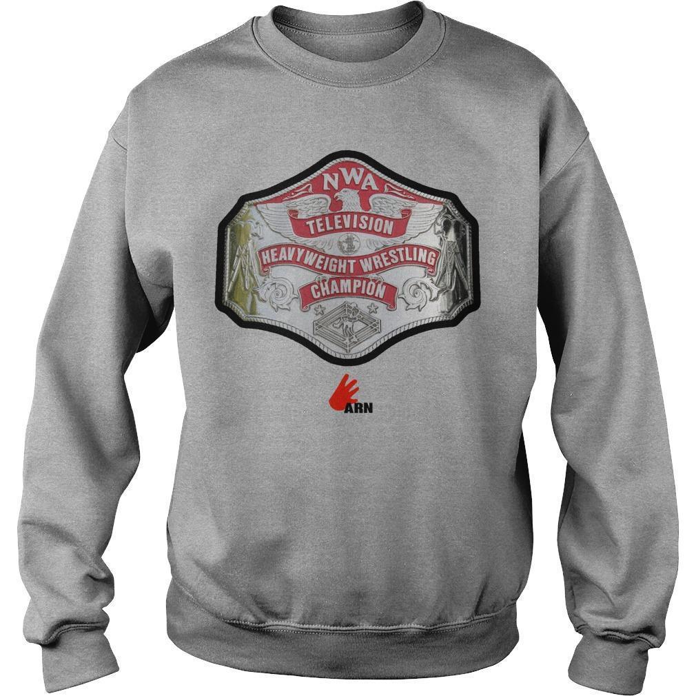 Adam Pearce Arn Television Heavyweight Wrestling Champion Sweater