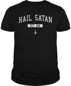 American Airlines Woman Hail Satan T Shirt