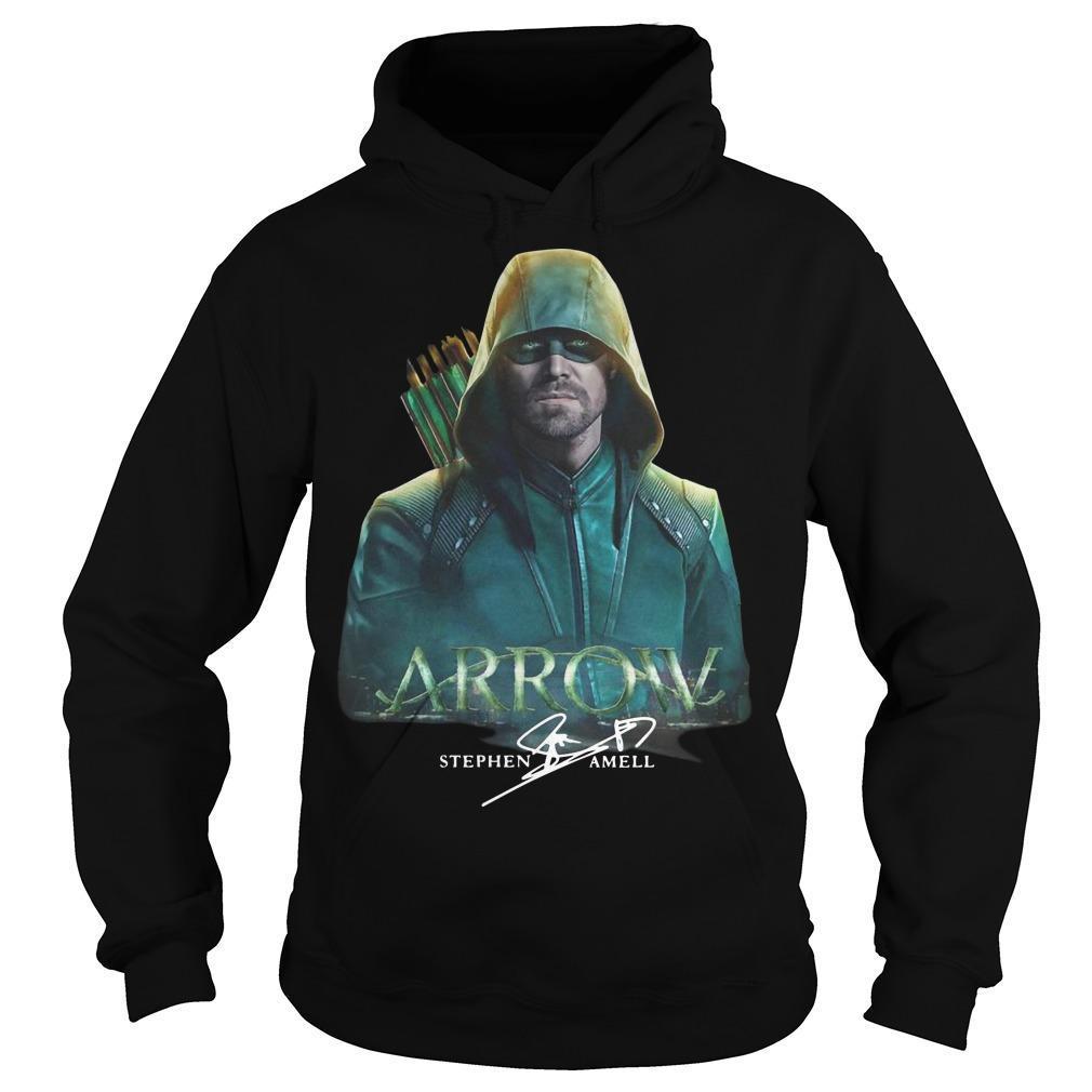 Arrow Stephen Amell Signature Hoodie