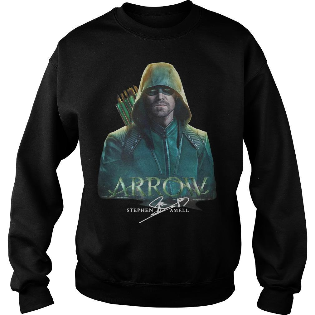 Arrow Stephen Amell Signature Sweater