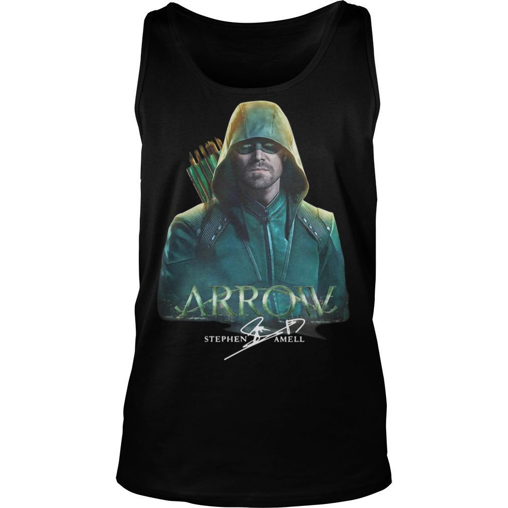 Arrow Stephen Amell Signature Tank Top
