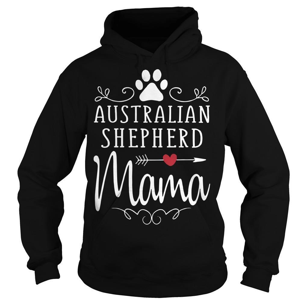 Australian Shepherd Mama Hoodie