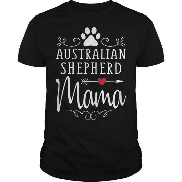 Australian Shepherd Mama Shirt