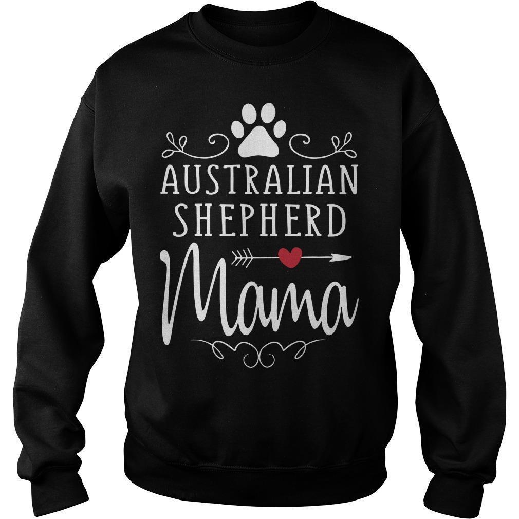 Australian Shepherd Mama Sweater