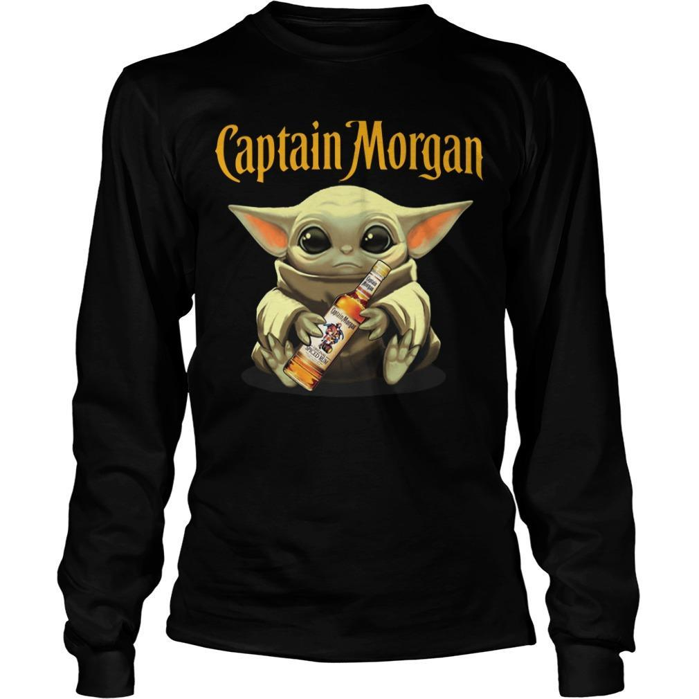Baby Yoda Captain Morgan Longsleeve