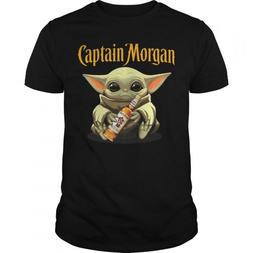 Baby Yoda Captain Morgan Shirt
