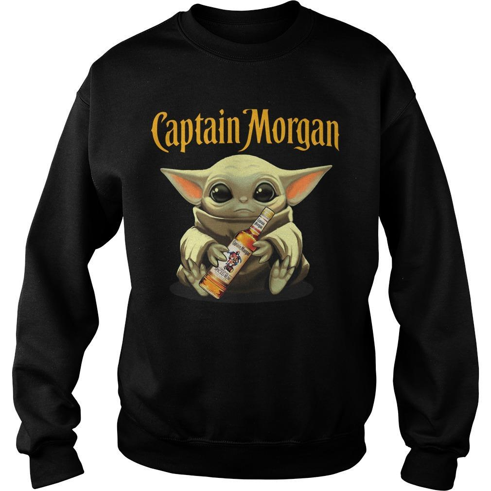 Baby Yoda Captain Morgan Sweater