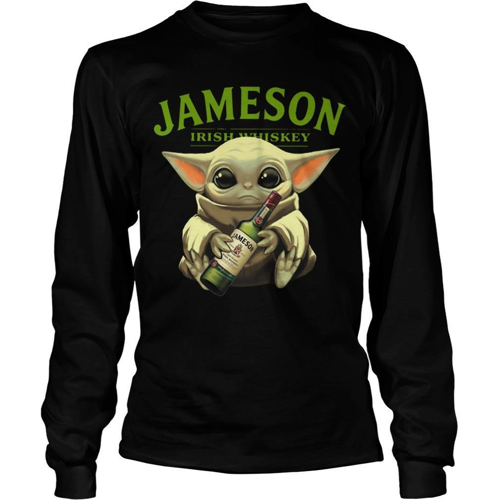 Baby Yoda Jameson Irish Whiskey Longsleeve