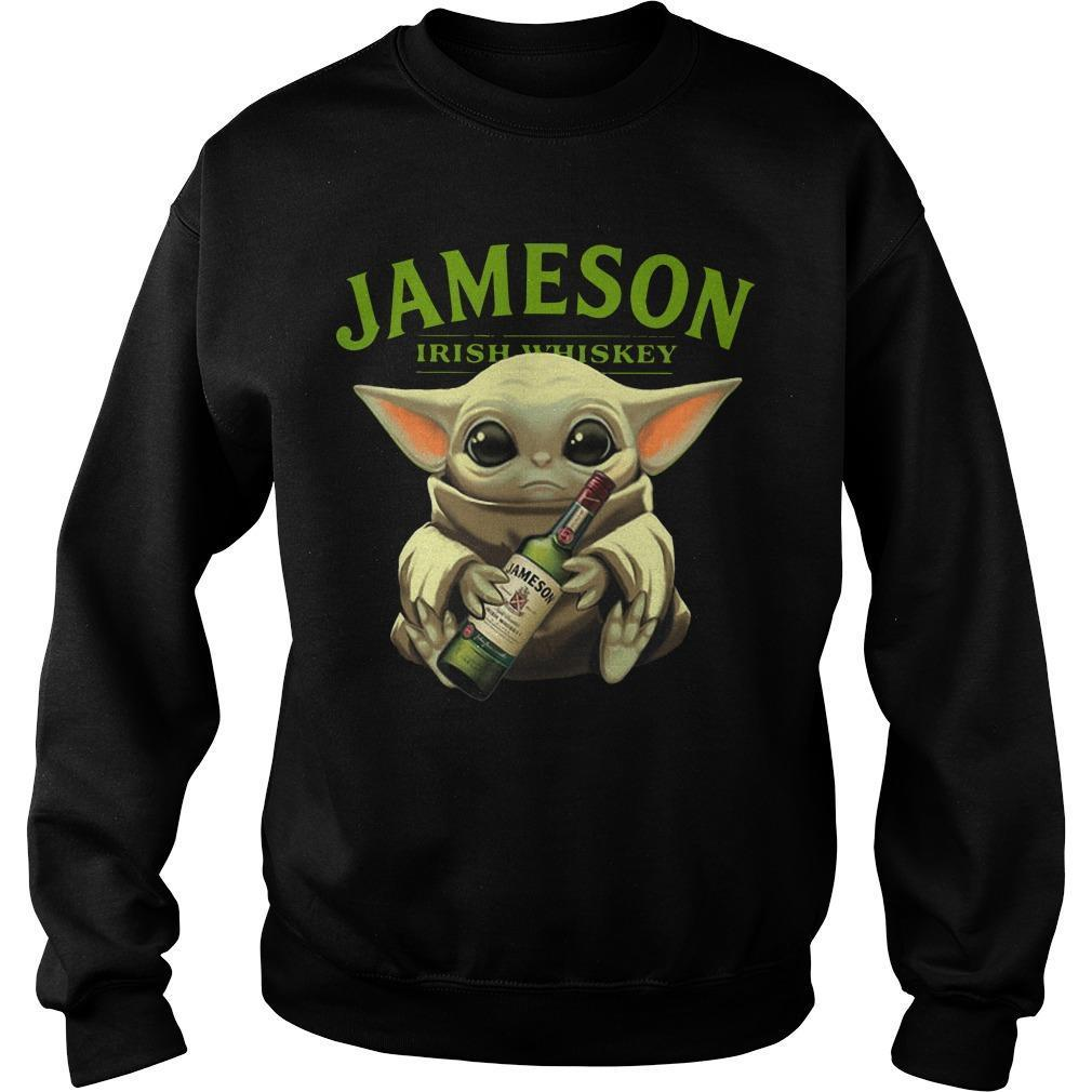 Baby Yoda Jameson Irish Whiskey Sweater