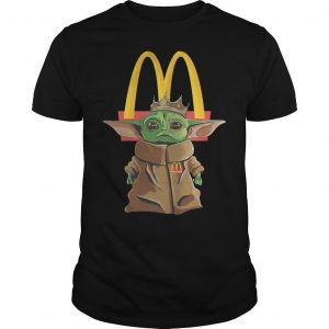 Baby Yoda Mcdonald Shirt
